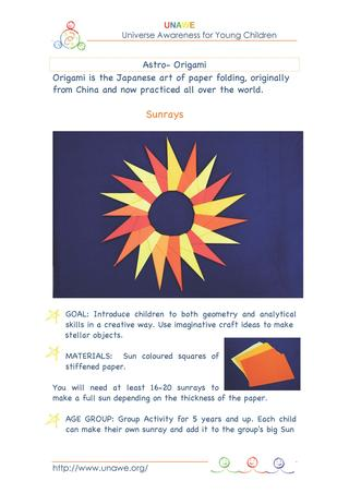 unawe_paper_sunrays_guide