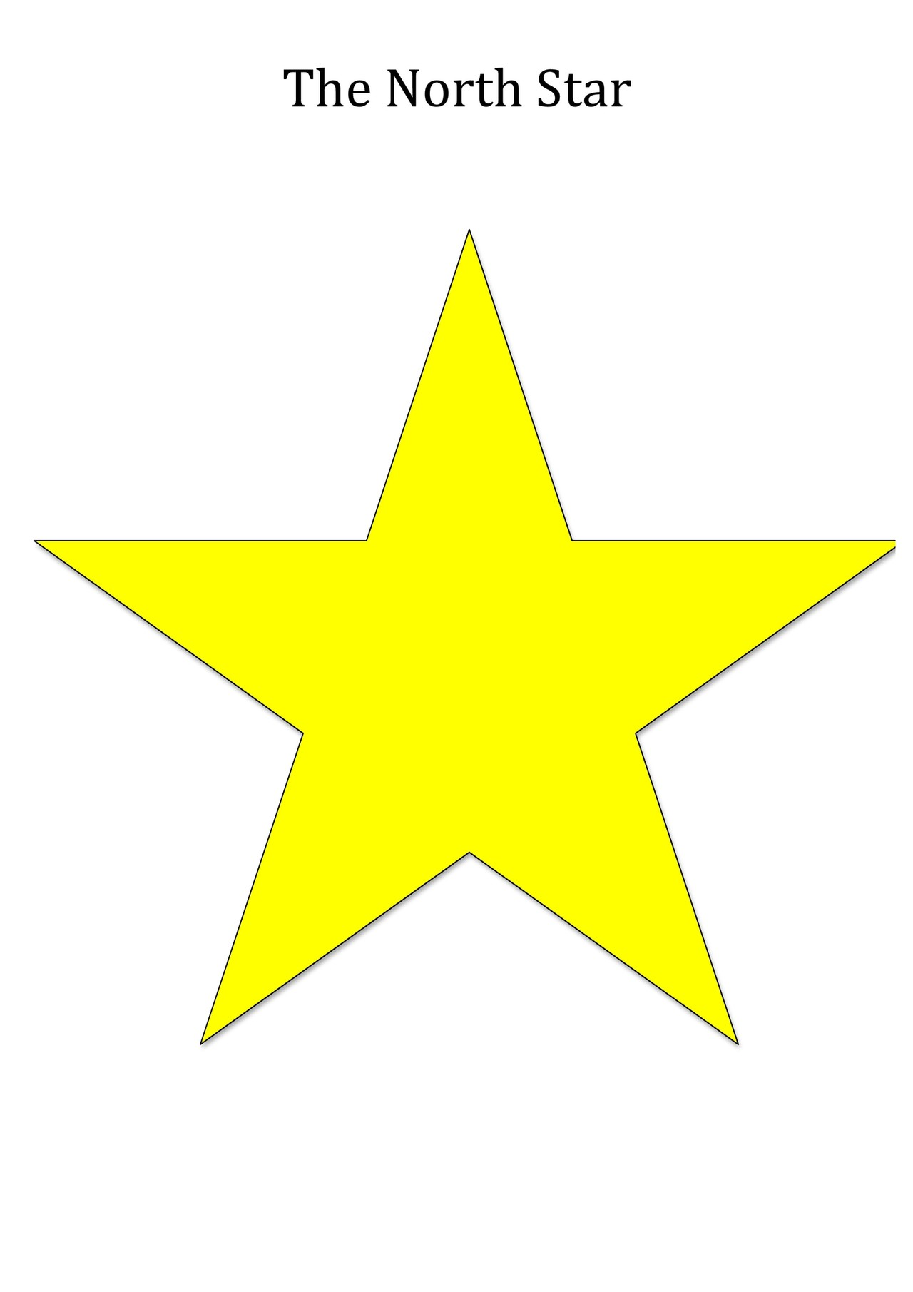 North Star Image for Teaching Seasons | UNAWE