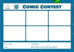Space Scoop Contest - Comic Template