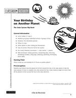 Your Birthday on Another Planet