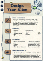 Design your Alien Activity