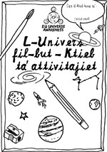 EU-UNAWE Cosmos in your Pocket Activity Book (Maltese)