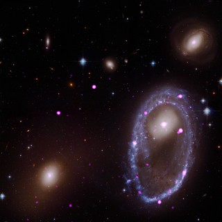 A Giant Ring of Black Holes