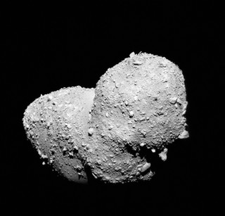 The Asteroid with a Heart of Stone