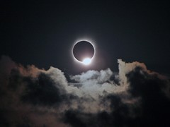 Total Eclipse Diamond Ring