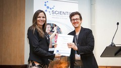 Scientix Award received by Pedro Russo