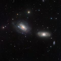 Galaxies Playing Tug of War