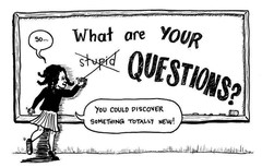 Comic Book There is No Such Thing as a Stupid Question