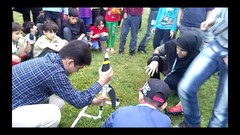 Water rocket contest at Rasht, Iran Astronomy Festival