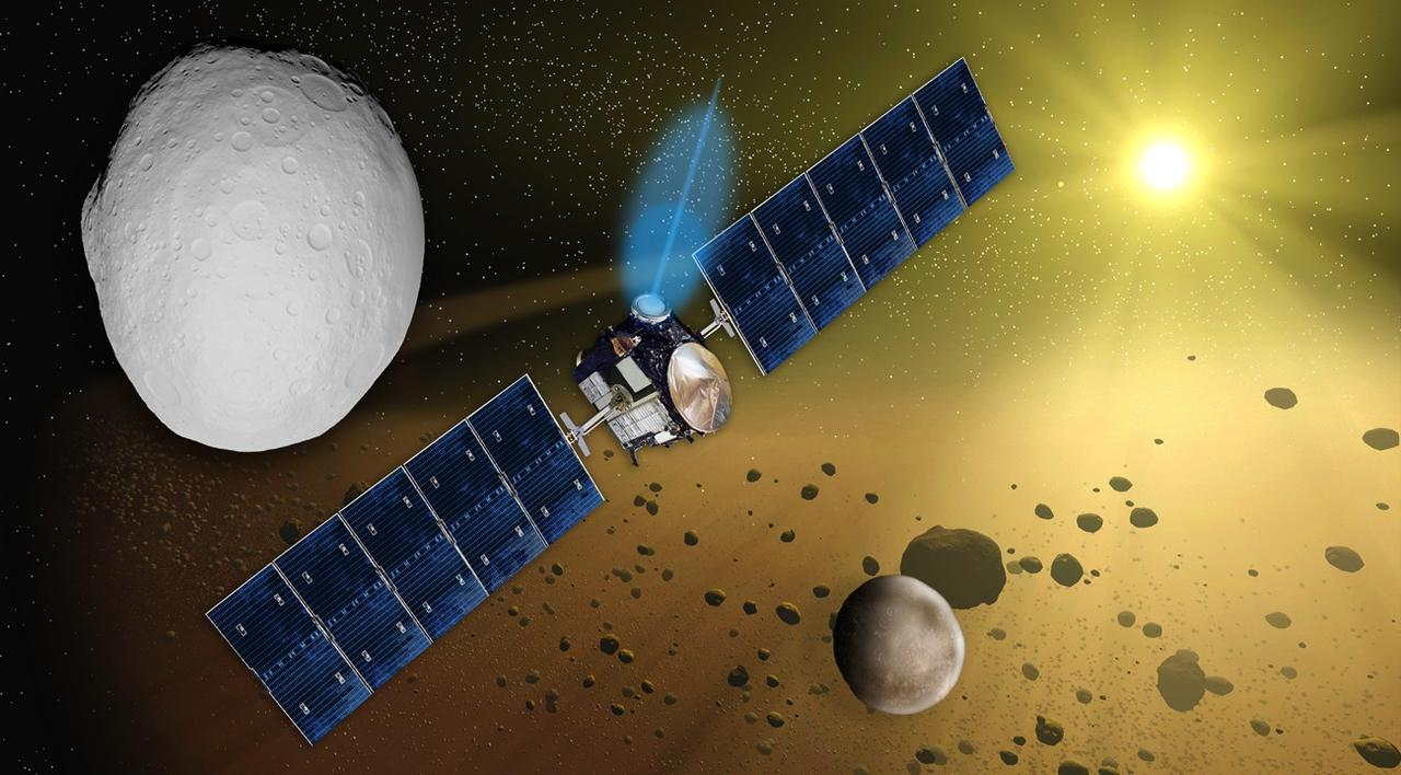 Dawn Spacecraft Mission (page 3) - Pics about space