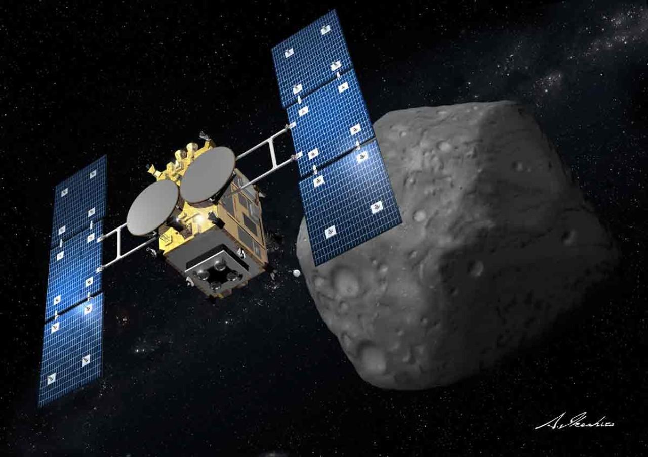 hayabusa mk2 spacecraft - photo #12