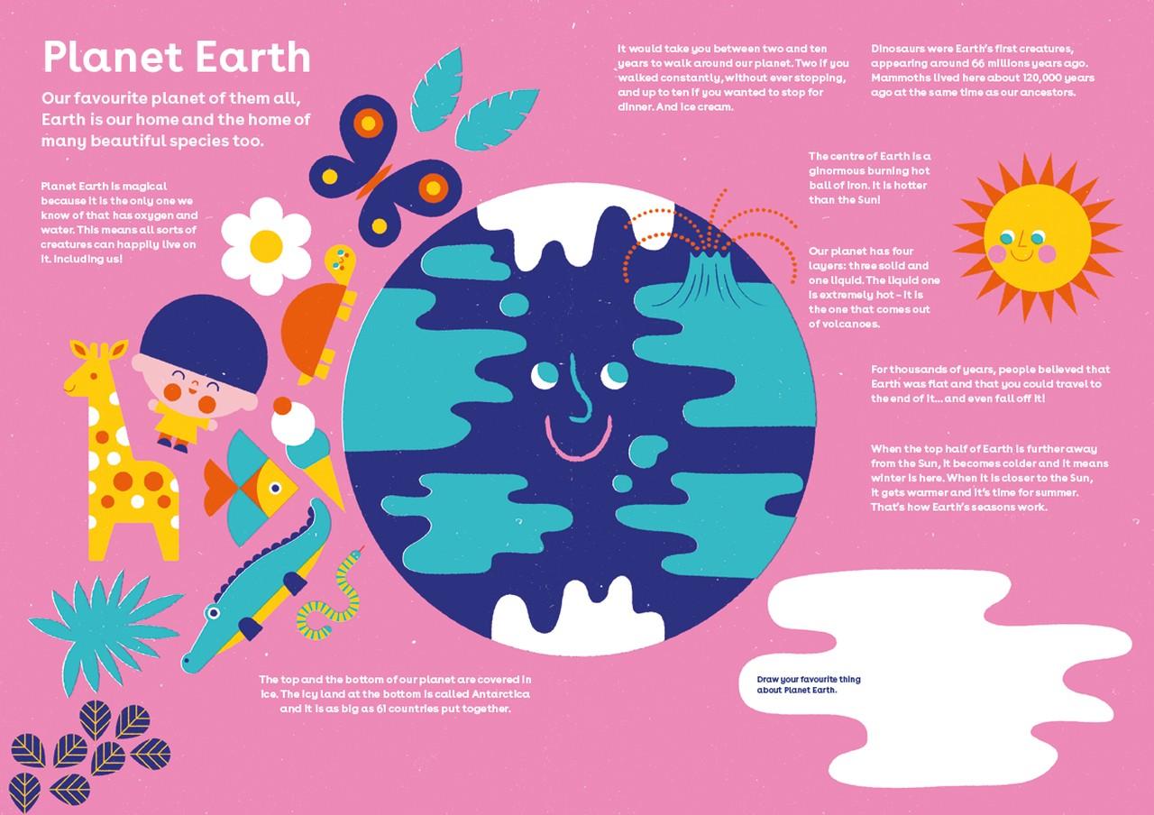 Dot Magazine, Planet Earth