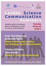 Leiden Science Communication Seminar May 2012
