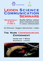 Leiden Science Communication Seminar May 2011