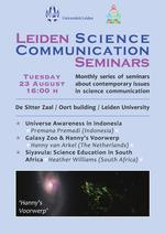 Leiden Science Communication Seminar Poster