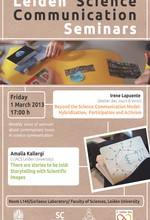 Science Communication Seminar Poster - March 2013