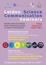 Leiden Science Communication Seminar - 28 September 2012