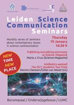 Leiden Science Communication Seminar - 19 January 2012