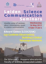 Leiden Science Communication Seminar - May 2012