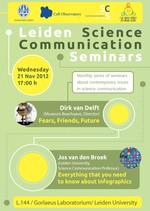 Science Communication Seminar Poster - November 2012