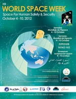 World Space Week 2012 Poster